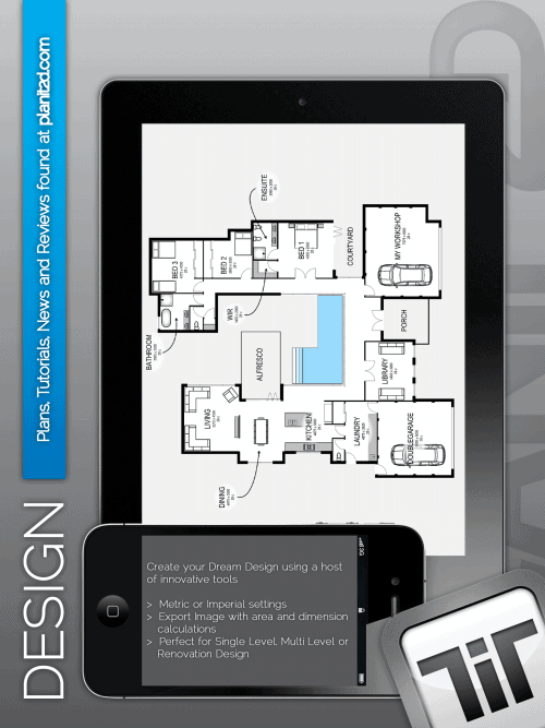Great new home design app