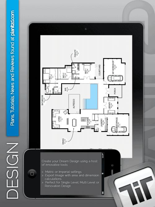 Great new home design app