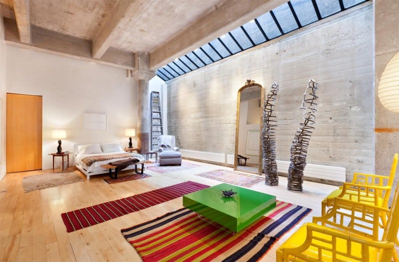 Cool and quirky Manhattan loft