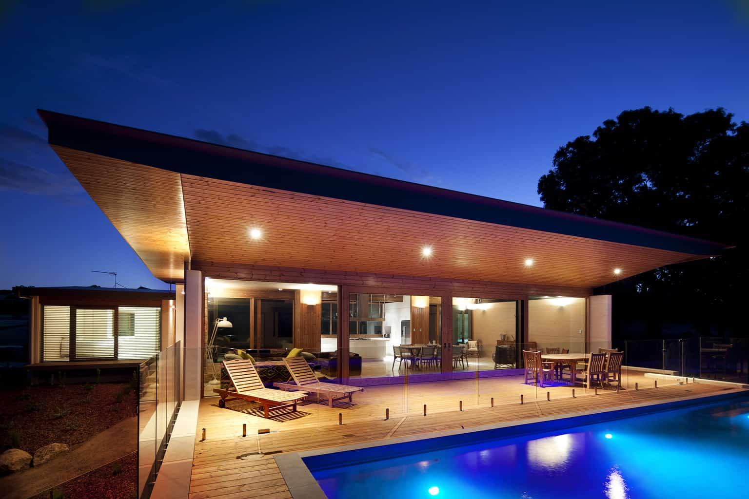 Pod design for Eagle Bay oceanfront home