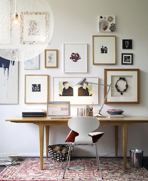 Design idea: collections on the wall