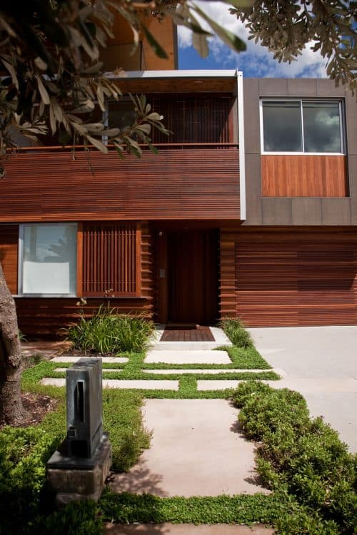 Front of house modern asian design, modern asian architecture, Virginia Kerridge, White Rock