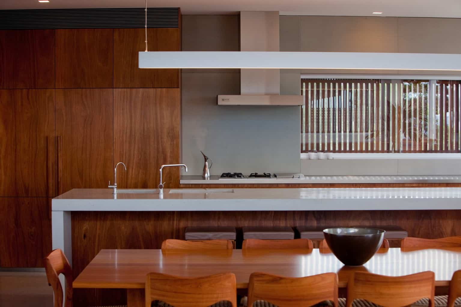 Kitchen with modern asian design, modern asian architecture, Virginia Kerridge, White Rock