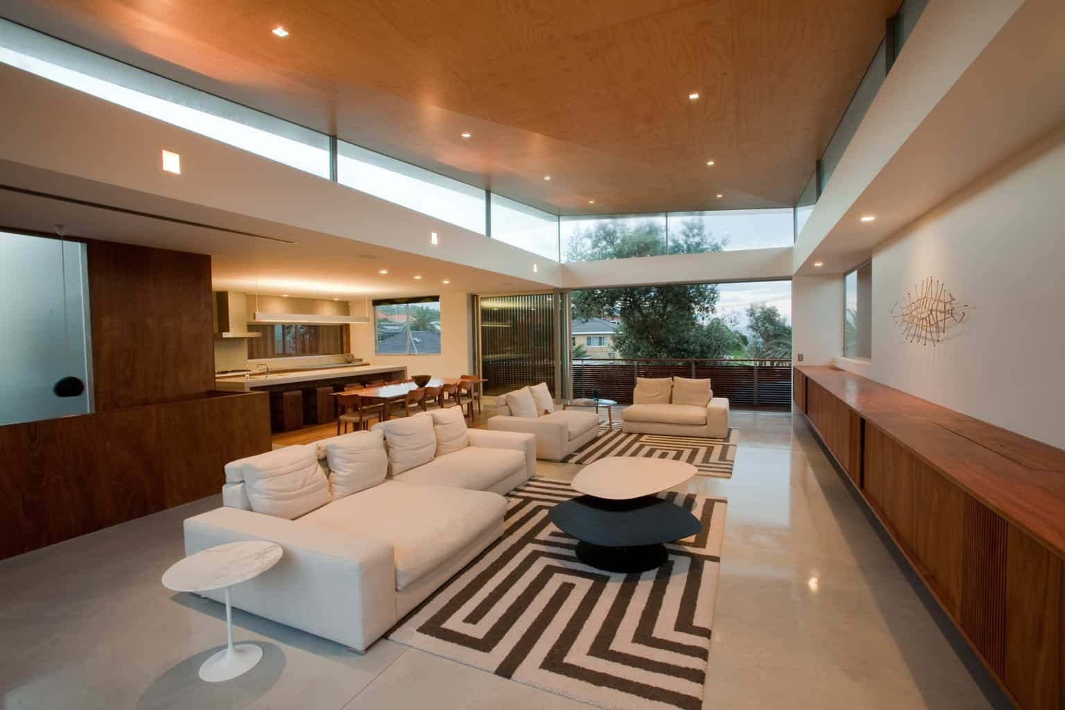 Living room with modern asian design, modern asian architecture, Virginia Kerridge, White Rock