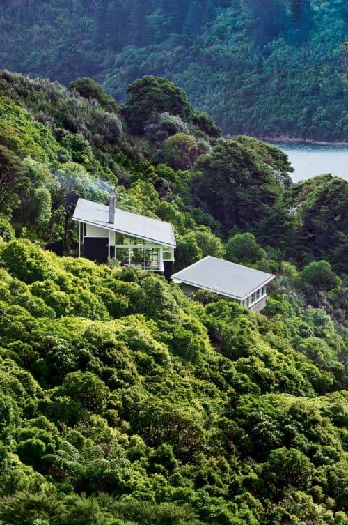 Architectural 'platform in the bush'