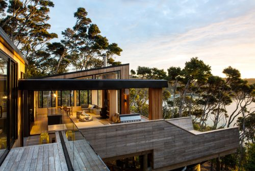 Architecture Dorrington Atcheson Kawau New Zealand Exterior