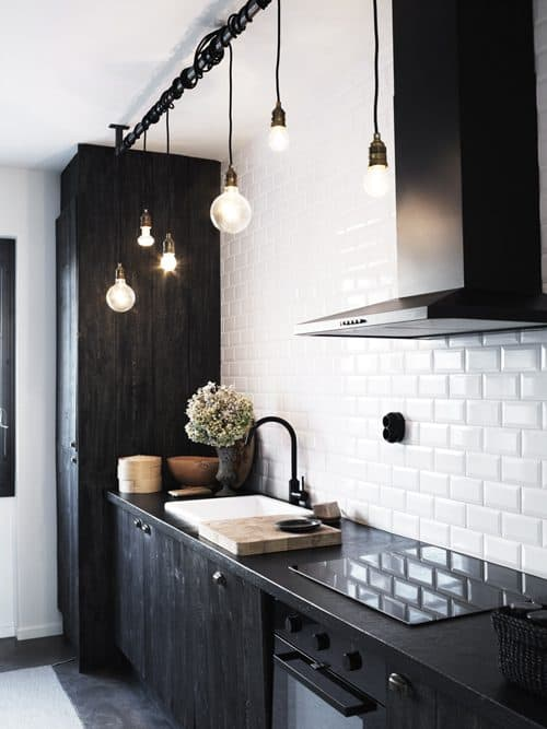 Do you like black and white architecture and design