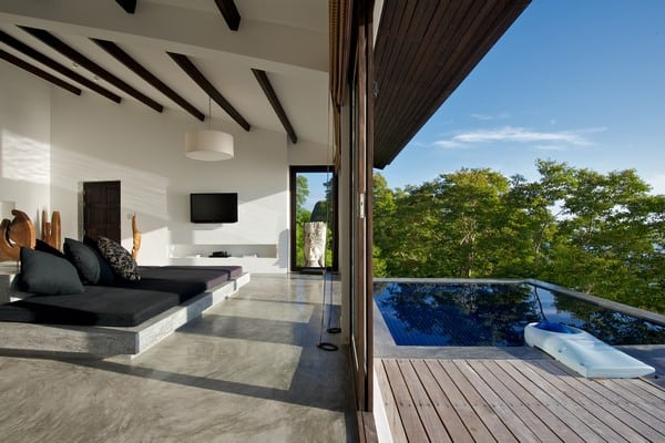 Modern Asian villa luxury on Koh Tao