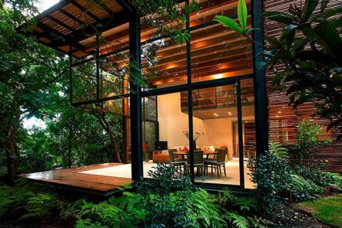 Treehouse architecture in Mexico