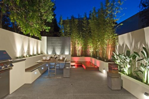 Multi-award winning courtyard design