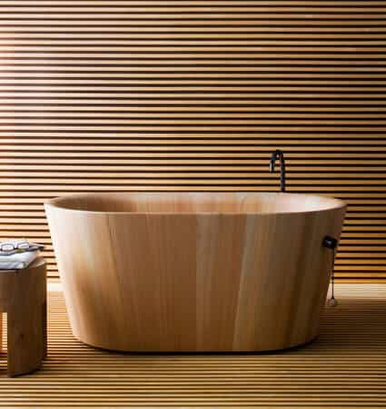Japanese ofuro bath