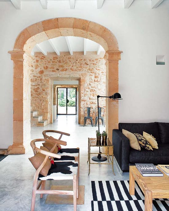Vintage industrial flavour for old oil mill in Spain