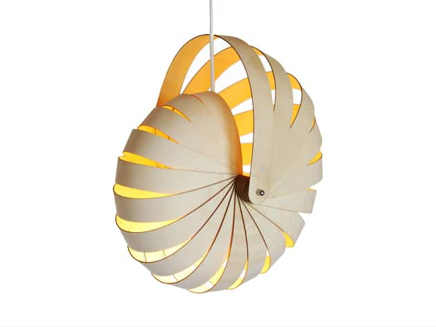 Nautilus pendant by Rebecca Asquith