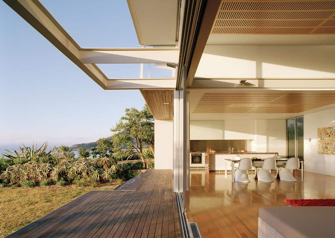 Glass Pavilion Architecture On Pearl Beach Sustainable