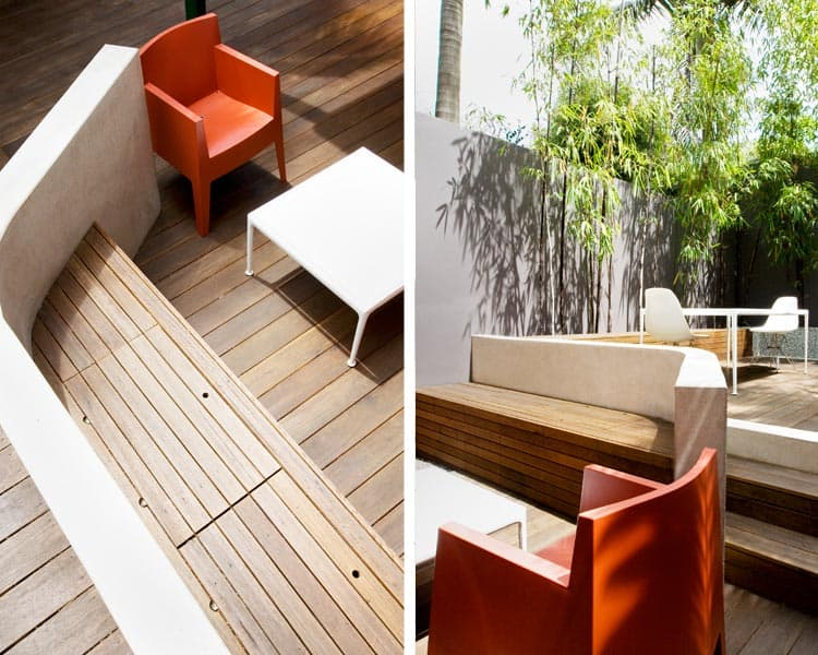 Sydney courtyard designed by Aspects Studio