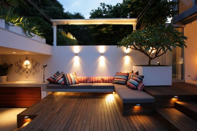 Fresh + modern inner city courtyard garden | Designhunter ...
