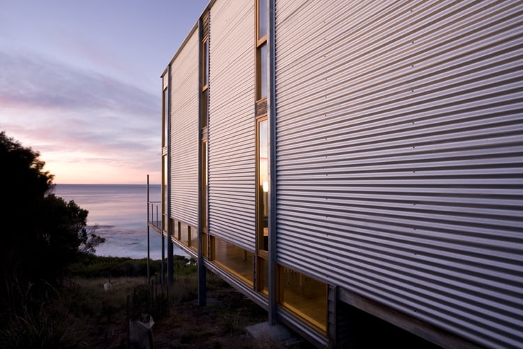 Sustainable shipping container style architecture